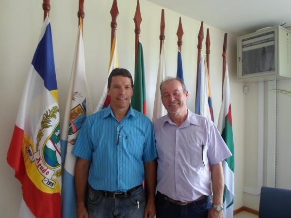 Presidente e vice-Presidente do CONDESUS
